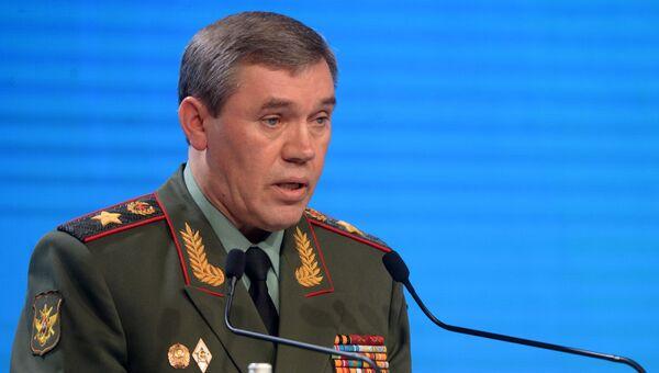Начальник Генерального штаба Вооруженных сил РФ - первый заместитель министра обороны РФ генерал армии Валерий Герасимов. Архивное фото