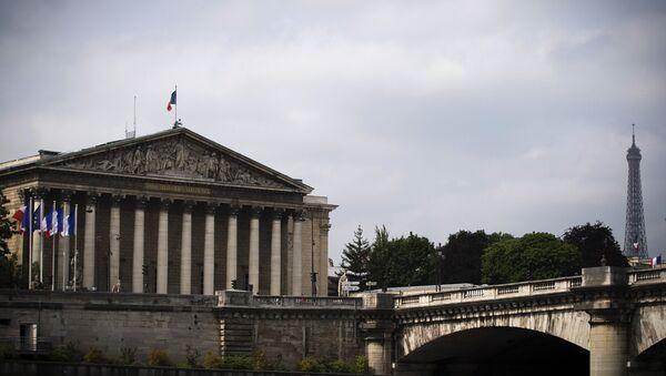 Национальная ассамблея Франции в Париже. Архивное фото