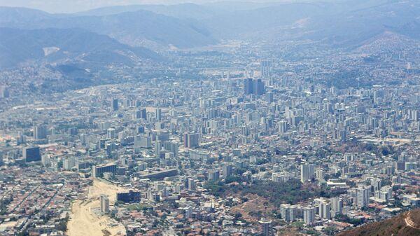 Вид на столицу Венесуэлы Каракас. Архивное фото