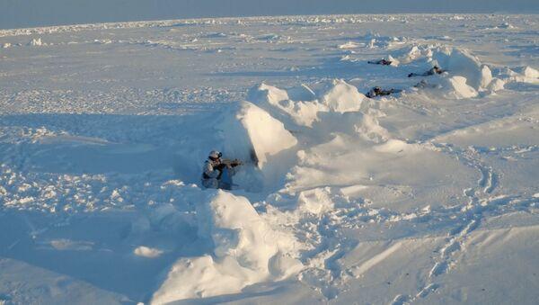 """Марш-бросок по льду, или Как чеченские спецназовцы """"штурмовали"""" Арктику"""