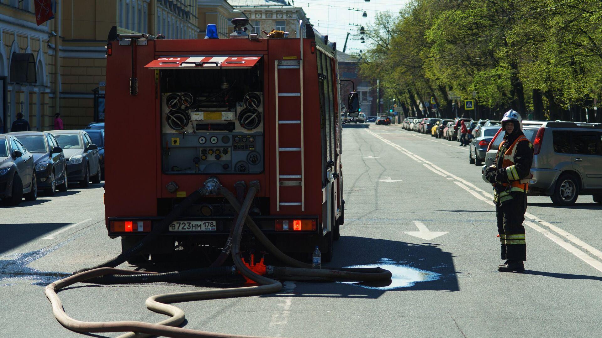 При пожаре в Петербурге погибли два человека