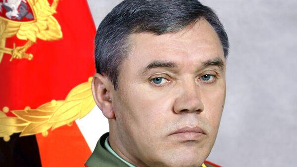 Начальник Генерального штаба – генерал армии Валерий Герасимов