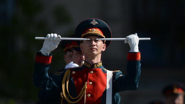 Генеральная репетиция военного парада в честь 71-й годовщины Победы в ВОВ