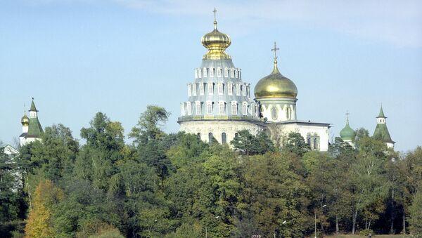 Воскресенский собор Новоиерусалимского монастыря в городе Истра Московской области. Архивное фото