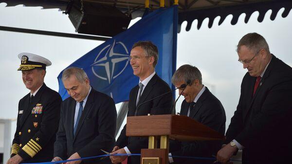 Церемония открытия американского комплекса ПРО Aegis Ashore на румынской военной базе в Девеселу