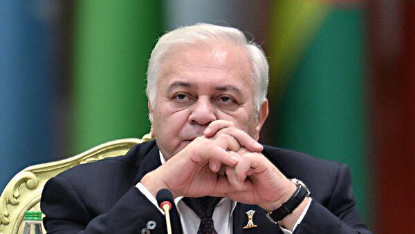 Спикер Милли Меджлиса (парламента) Азербайджанской Республики Октай Сабир оглы Асадов. Архивное фото