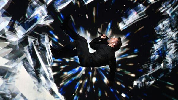 Выступление Сергея Лазарева в первом полуфинале конкурса песни Евровидения-2016