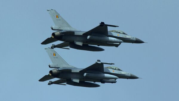 F-16 ВВС Бельгии. Архивное фото