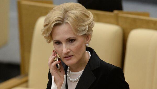 Председатель комитета Государственной Думы РФ по безопасности и противодействию коррупции Ирина Яровая