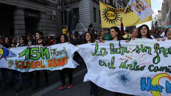 Митинг в Мадриде