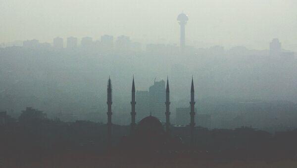 Вид Анкары. Турция. Архивное фото