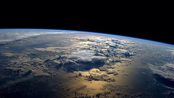 Фотография Земли, сделанная с борта МКС астронавтом NASA Рэдом Вейсманом