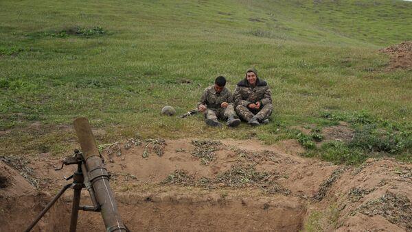 Ситуация в Нагорном Карабахе. Архивное фото