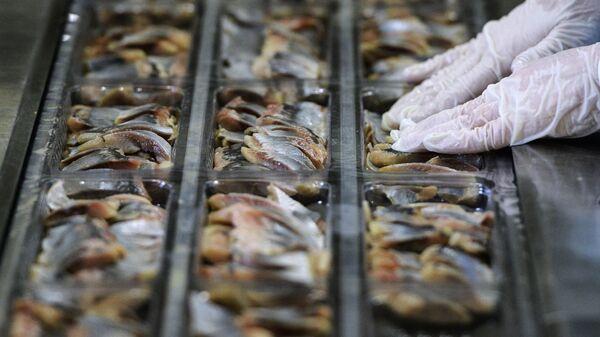 Предприятие по переработке рыбы