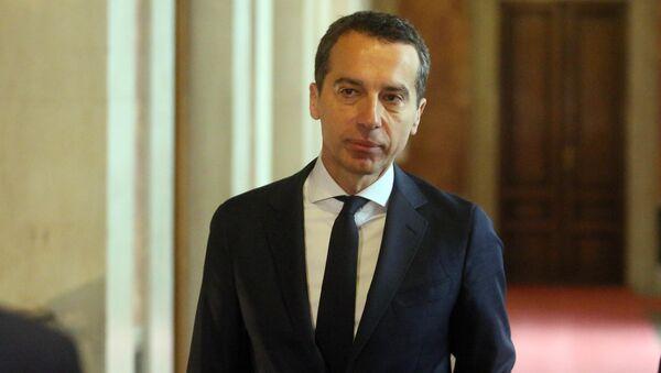 Новый канцлер Австрии Кристиан Керн. Архивное фото