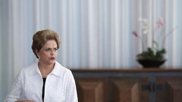 Президент Бразилии Дилма Роуссефф. Архивное фото