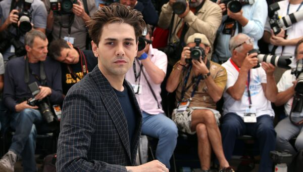 Канадский режиссер Ксавье Долан на 69-м Каннском кинофестивале в Каннах, Франция