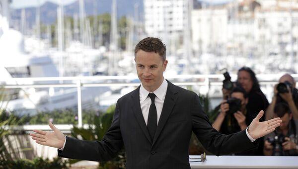 Датский режиссер Николас Виндинг Рефн во время фотоколла для фильма Неоновый демон на 69-м Каннском кинофестивале в Каннах, Франция