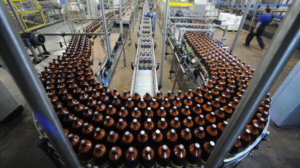 Производства кваса и пива на Очаковском заводе