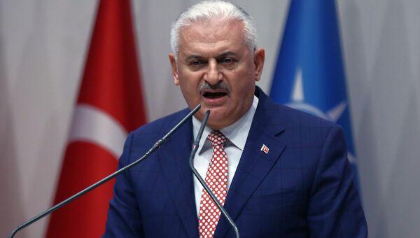 Премьер-министр Турции Бинали Йылдырым. Архивное фото