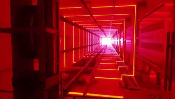 Психоделический лифт в Амстердаме