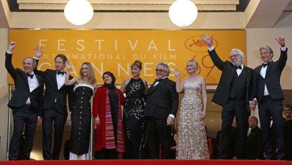 Жюри 69-го Каннского кинофестиваля на церемонии закрытия