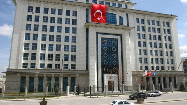 Штаб-квартира правящей Партии справедливости и развития в Анкаре, Турция