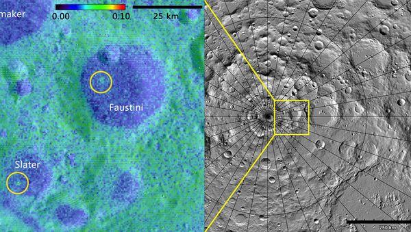 Неожиданно молодые кратеры на Луне, найденные зондом LRO