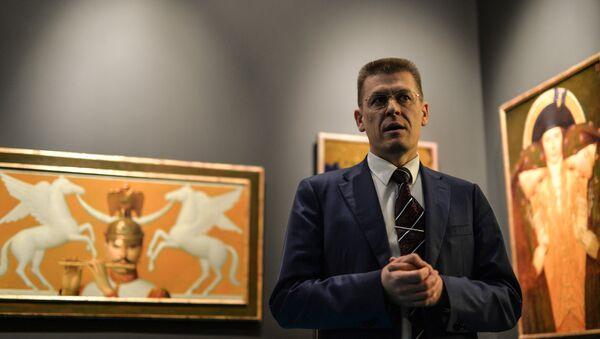 Заместитель министра культуры Владимир Аристархов. Архивное фото