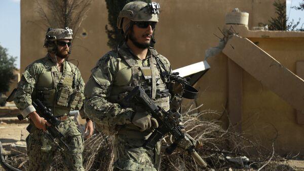 Американский спецназ. Архивное фото