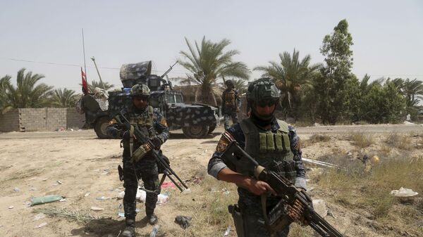 Иракская федеральная полиция. Архивное фото