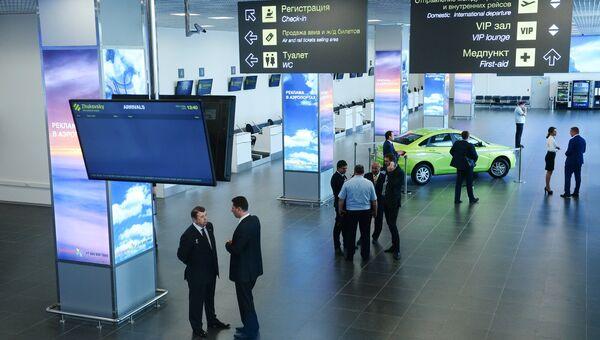 Международный аэропорт в Жуковском. Архивное фото