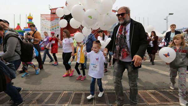 Борис Гребенщиков принял участие в Забеге добрых дел во Владивостоке