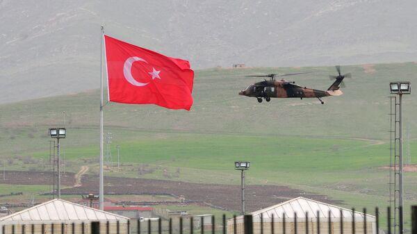 Вертолет ВВС Турции. Архивное фото