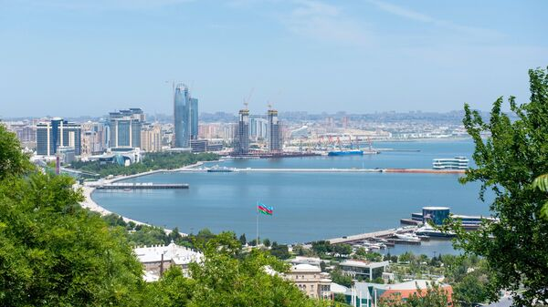 Панорама города Баку. Архивное фото