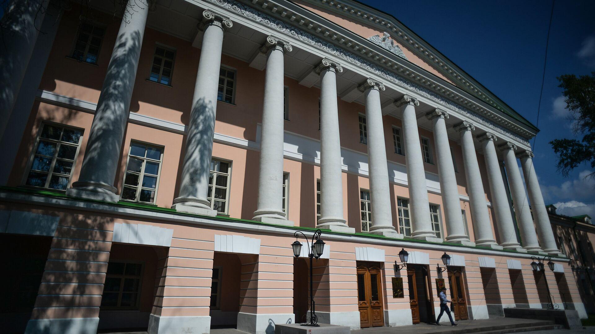 Здание Московской городской Думы на Страстном бульваре в Москве - РИА Новости, 1920, 22.09.2021