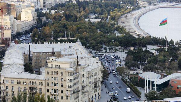 Вид на город Баку. Архивное фото.