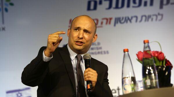 Лидер партии Еврейский дом Нафтали Беннет