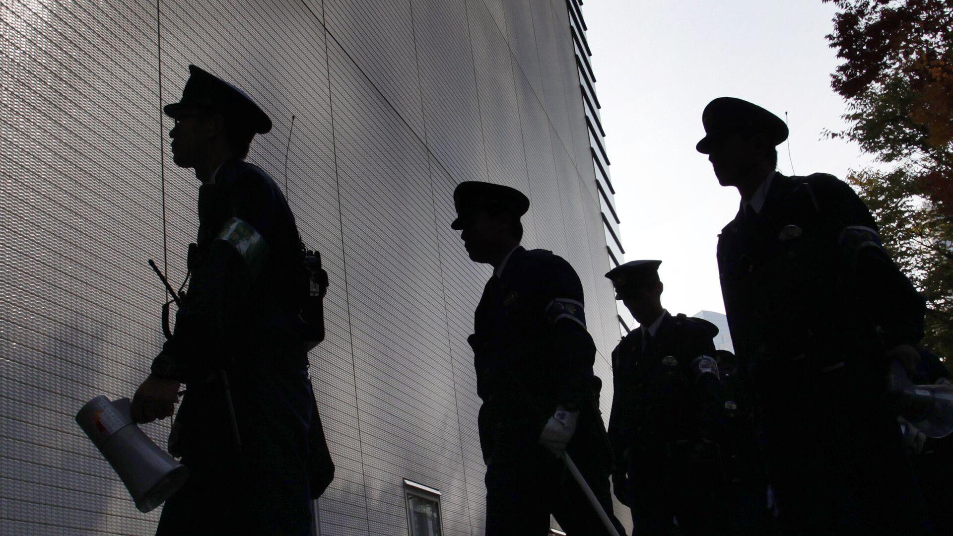 Сотрудники правоохранительных органов Японии - РИА Новости, 1920, 29.08.2021