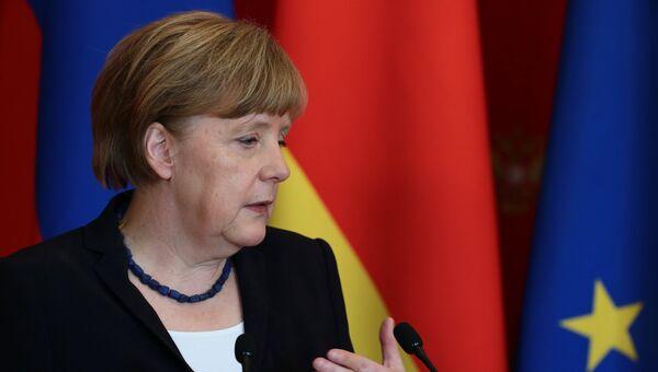 Канцлер Федеративной Республики Германия Ангела Меркель. Архивное фото