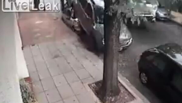 Небезопасная парковка