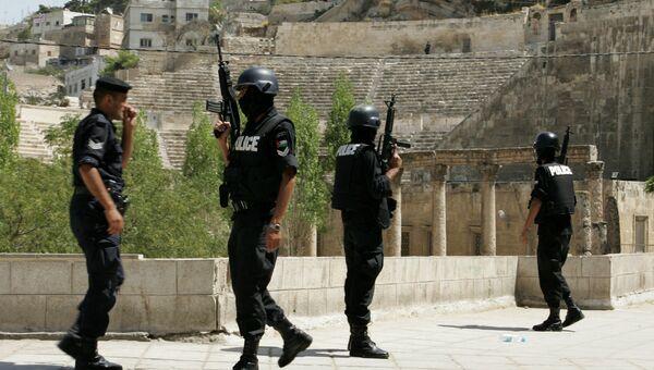 Сотрудники полиции в Аммане, Иордания. Архивное фото