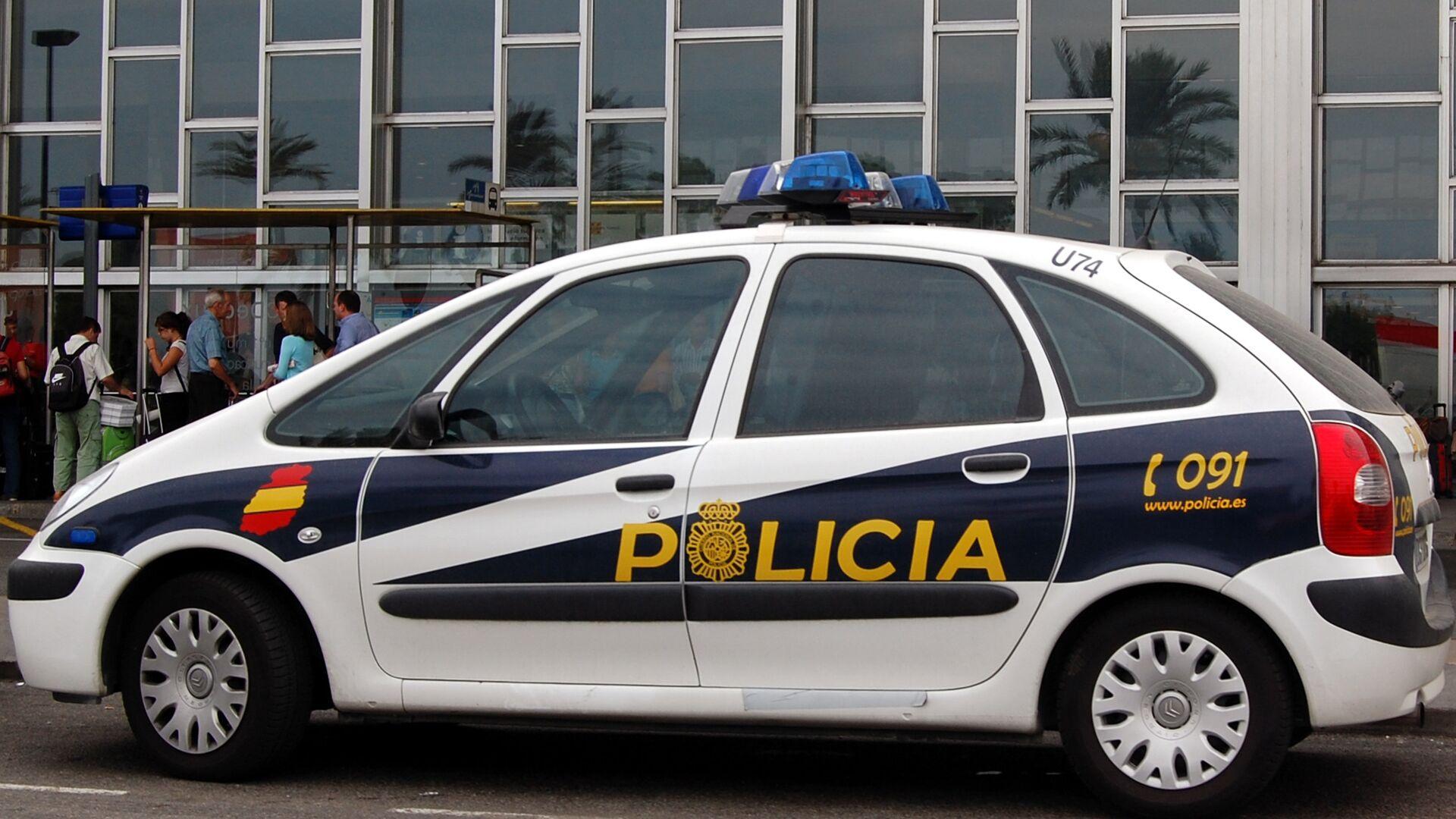 Автомобиль испанской полиции - РИА Новости, 1920, 03.09.2020