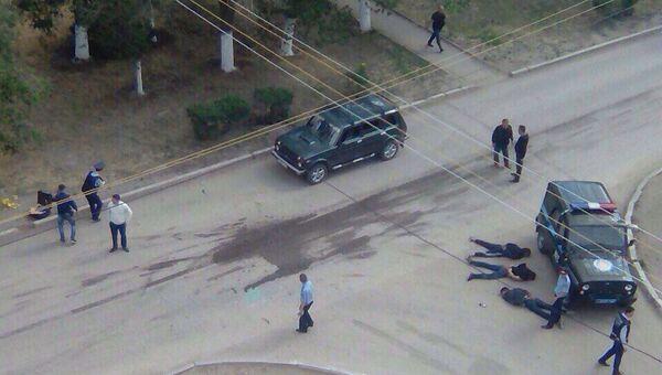 Спецоперация правоохранительных органов Казахстана в Актобе