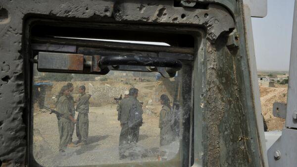 Бойцы Рабочей партии Курдистана. Архивное фото