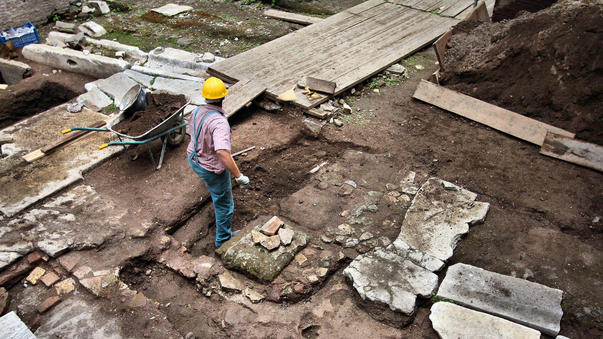 Археологические раскопки - РИА Новости, 1920, 30.09.2021