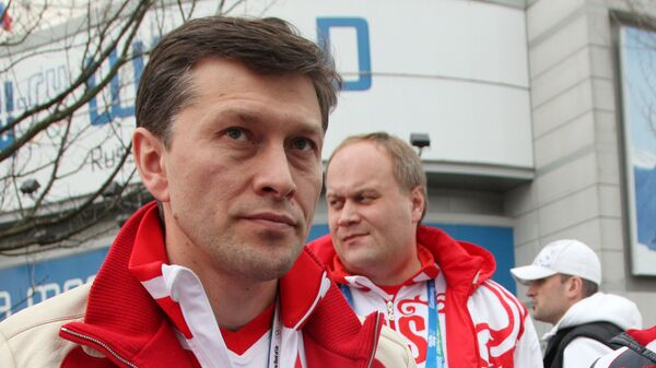 Александр Кибалко и министр спорта РФ Виталий Мутко (справа). Архивное фото