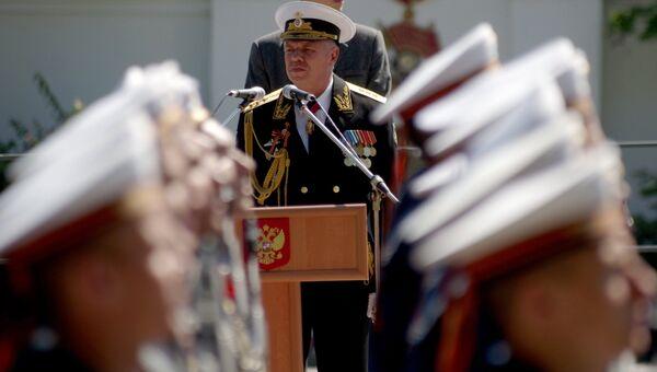 Командующий Черноморским флотом России адмирал Александр Витко. Архивное фото