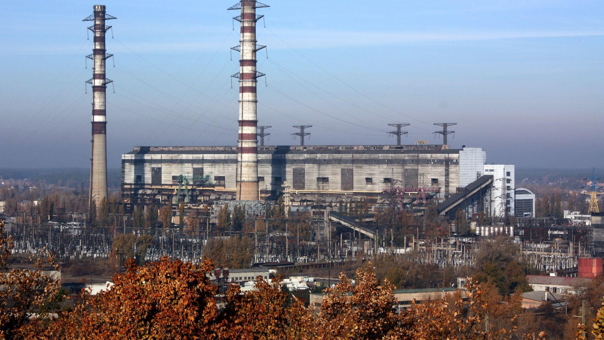 Трипольская тепловая электростанция  - РИА Новости, 1920, 07.02.2021