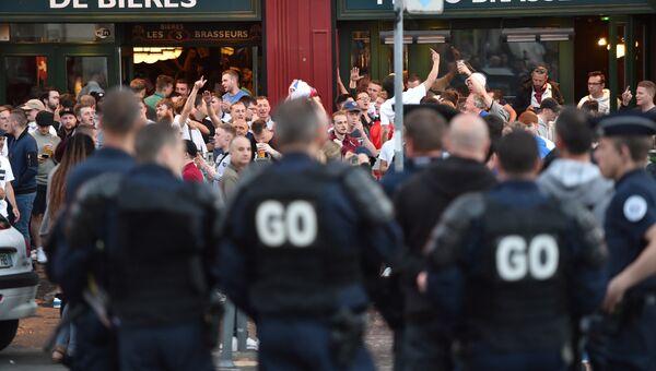 Полиция в Лилле, Франция. 14 июня 2016